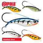 Rapala Weedless Shad Lures - Pike Perch Zander Bass Pollock Sea Fishing Tackle