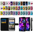 For HTC Desire 626 626S Ultra Slim Canvas Wallet Pouch Phone Case Cover + Pen