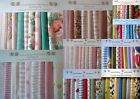 80piece. LAURA ASHLEY FABRIC PATCHWORK QUILTING KITS + INSTRUCTIONS-CHOICE of 14
