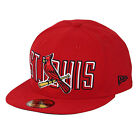 St. Louis Cardinals Bevel Pitch 59FIFTY [5950] MLB New Era Fitted Cap