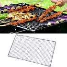 BBQ Grill Stainless Steel Net Wire Mesh Camping Barbecue Outdoor Picnic US Stock