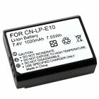 LP-E10 Li-on Battery For Canon EOS 1100D Rebel T3 Kiss X50