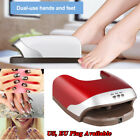 48W Nail Art Timer Dryer LED UV Lamp Gel Polish Cure Dual Use For Hands & Feet
