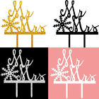 Latest Design Snowflake Note Shape Insert Card Cake Decor Topper Inserted Card
