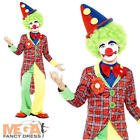 Circus Clown + Bowtie Boys Fancy Dress Carnival Jester Kids Costume Outfit New
