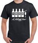 Bottles 1958 Mens Funny 60th Birthday T-Shirt 60 Year Old Gift Present