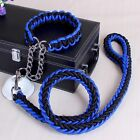 Pet Dog Nylon Rope Training Leash Lead Strap Adjustable Traction Collar Classic