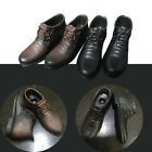 "1/6 High Help Leather Shoes with Connect Holes for 12"" Phicen Male Figure Body"