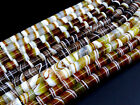15*18mm Beautiful Picture Stripe Lace Agate Loose pendant Spacer bead CD