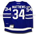 AUSTON MATTHEWS TORONTO MAPLE LEAFS HOME ROOKIE JERSEY REEBOK PREMIER NHL 100TH