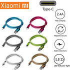 Braided USB Type-C USB-C Type C Charger Charging Cable for Xiaomi 6 Mi 6