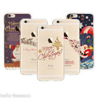 Christmas Cartoon Santa Claus Soft lucency TPU Phone Case