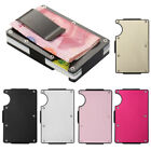 New Aluminum Elastic Band Slim Money Clip Credit Name Card Holder Wallet Purse