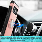 Galaxy S7 Case Finger Ring Holder Hybrid 360 KickStand Protective Case Cover