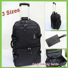 New! Lightweight Wheeled Travel Duffle Bag Luggage Overnight Tote Trolley 3 Size