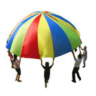 Children Kids Play Rainbow Parachute Outdoor Game Development Exercise