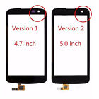 Black Touch Screen Digitizer Lens Glass Display Assembly Replacement For LG K4