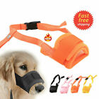 Chic Dog Muzzle Soft Pet Puppy Stop Chewing Mouth Cage Cover Adjustable Belt