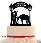 Wedding CakeTopper Mr and Mrs Topper personalize  With Your Last Name 50 colors