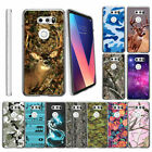 For LG V30 (2017) Ultra Slim Fitted Flexible Clear TPU Case Cover Camos