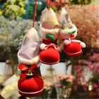 Candy Boots Flocking Socks Christmas Gift Xmas Decor Box Kids Claus Winter Hot