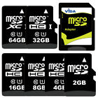 Micro SD SDHC SDXC TF Memory Card High Speed Class 10 UHS 1 For HTC Mobile Phone