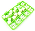 101 ASSORTED PIECE NYLON DOME NUTS PLASTIC DOME NUT R/C MODEL BUILDING KIT