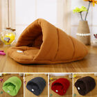 Fashion Cat Dog House Puppy Cave Pet Sleeping Bed Mat Pad Igloo Nest Hot S,M,L,X