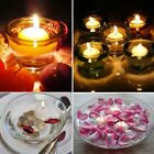 100pcs/pack Floating Water  Round Candles Unscented Christmas Night Decoration