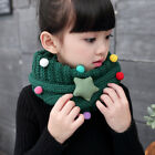 Cute Children Baby Girls Knitted Warm Knit Wool Scarf Neck Scarves Wrap Scarf