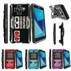 For Samsung Galaxy On7 | J7 Prime | J7 Halo (2017) Clip Holster Case Gaming