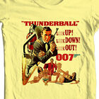 James Bond T-shirt 007 Thunderball Sean Connery vintage movie 1970's cotton tee $19.99 USD