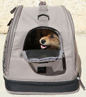 DOG PET CARRIER Dog Purse Handbag Carry Tote for dogs to16 lbs BON AMI USA MADE