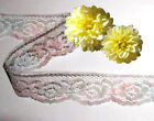 "Lace Trim Multi Color 1-1/8"" Scalloped Doll Lace R74BV Added Trims ShipFree"