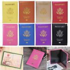 Candy Color Passport Travel Organizer Holder Card Case Protector Cover Wallet