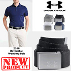 UNDER ARMOUR WEBBING BELT ADJUSTABLE CANVAS BELT ONE SIZE MENS GOLF BELT NEW