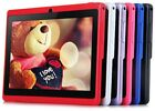 """7"""" Tablet PC Android4.4 Q88 A33 8GB ROM Quad-core WIFI Dual Camera Bluetooth #A"""