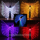 LED isis wings more lights belly dance slow cosplay prop include sticks bag