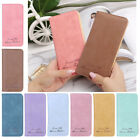 Women Clutch Wallet Faux Leather Purse Vintage Slim Long Card Holder Bag Bifold