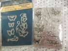 Tattered Lace Die & Stamp Set - SPRING INTO SUMMER BUTTERFLIES  **LAST SET**