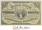 1863 3 Cents 3rd Issue Fractional Currency *312