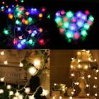 10-LED Rose Flower Fairy Wedding Garden Christmas Party Decor Xmas String Lights