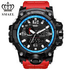 SMAEL Waterproof Casual Sports Military Watches Mens Analog Quartz Digital Watch