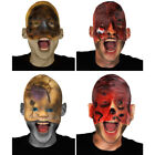 CLEARANCE HALLOWEEN MASK ADULT HORROR GORY FACE FLESH NIGHTMARE SCAR FANCY DRESS