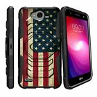 For LG X Power 2 | Fiesta LTE | X Charge | K10 Power | LV7 Clip Case Stand Cover