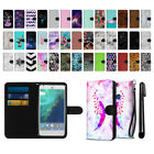 "For Google Pixel XL 5.5"" HTC Ultra Slim Canvas Wallet Pouch Case Cover + Pen"