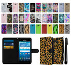For Kyocera Hydro View C6742 Ultra Slim Canvas Wallet Case Cover + Pen