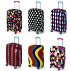 "Elastic Travel Luggage Suitcase Dust-proof Cover Protector For 18'~28"" Useful LD"