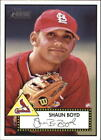 2001 Topps Heritage Baseball #1 - #196 Choose Your Cards