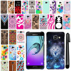 "For Samsung Galaxy A3 A310 4.7"" 2nd Gen PATTERN HARD Back Case Phone Cover + Pen"